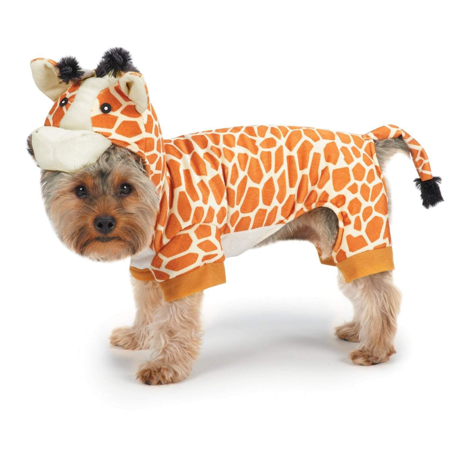 Giraffe Dog Costume Pet Costumes Dog Halloween Costumes