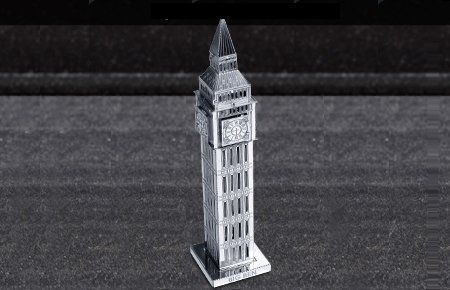 Fascinations ICONX BURJ AL ARAB Hotel DUBAI 3D Laser Cut Steel DIY Model Kit