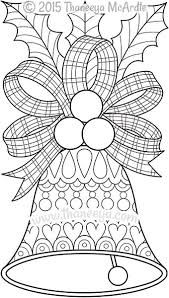 image result for christmas bells coloring pages - Bell Coloring Pages