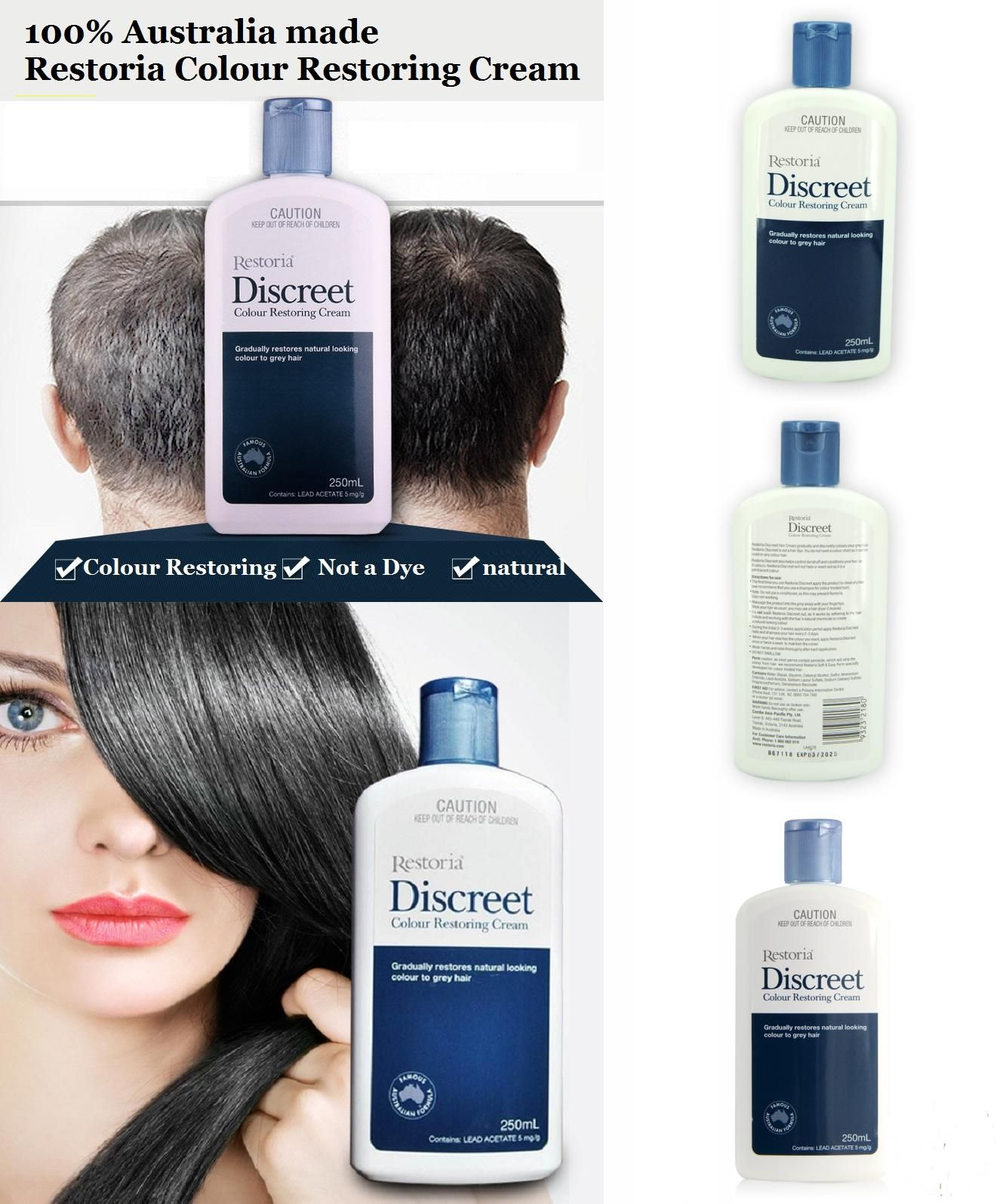 Visit To Buy 100 Australia Made Restoria Discreet Colour