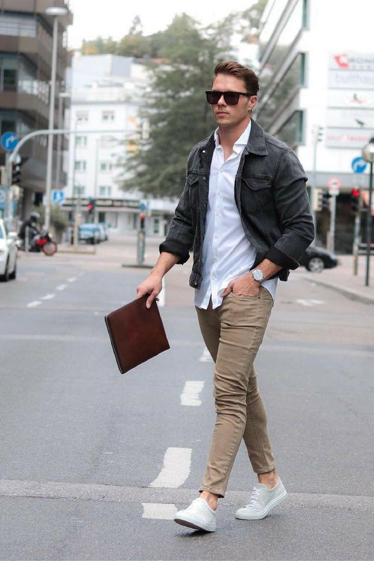 130bc8dada 5 Ways to wear chinos ..  mens  fashion  style