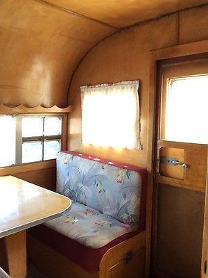 Vintage 1950 Terry Rambler Travel Trailer camper 95 Original