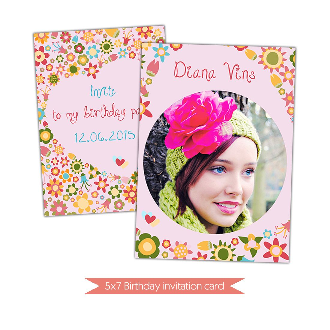 Birthday Card Template. Nuwzz Happy Birthday