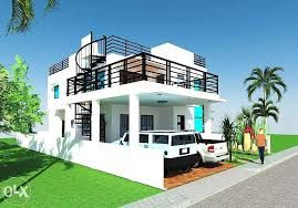 View modern design house with roof deck for    sq lot size sale in quezon city on olx philippines or find more new and used also lakshika malshani lakshikamalshani pinterest rh