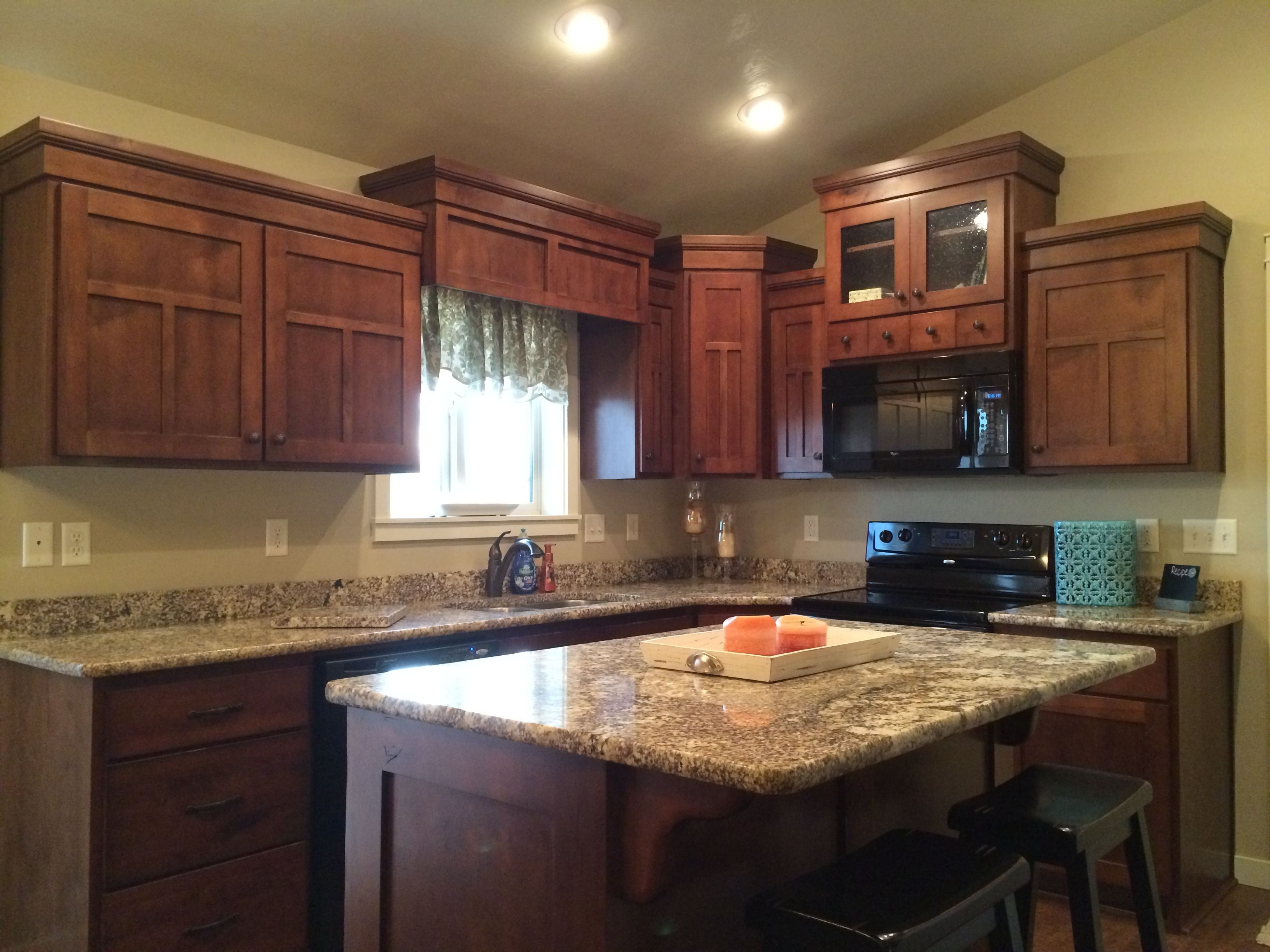 Kitchen Granite Counter Tops Custom Cabinets Granite Kitchen Kitchen Large Living Room