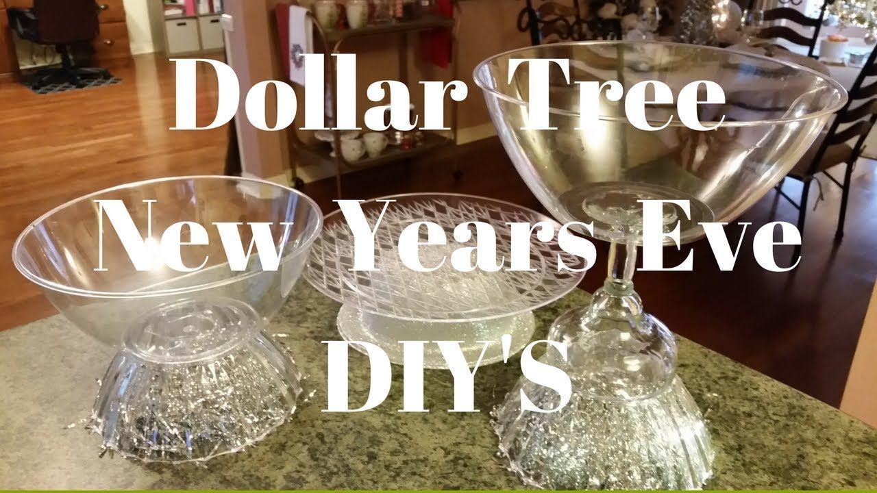Dollar Tree New Years Eve Diy S Youtube Dollar Tree New Years Eve Dollar Tree Gifts