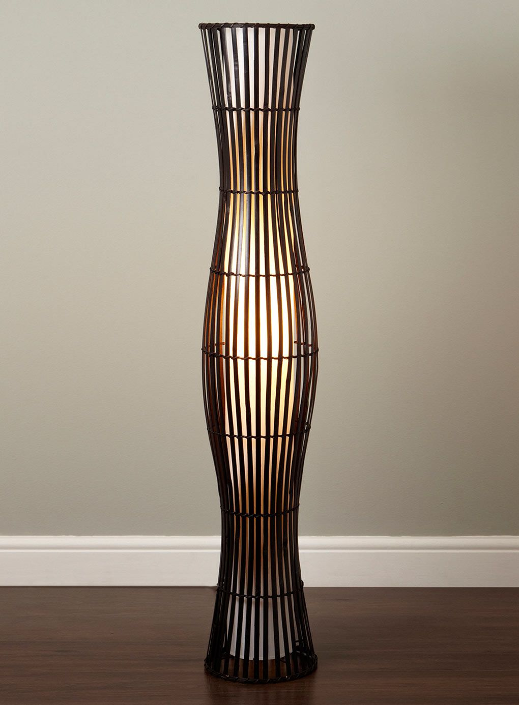 Wonderful Drawing Of Wicker Table Lamps Concept