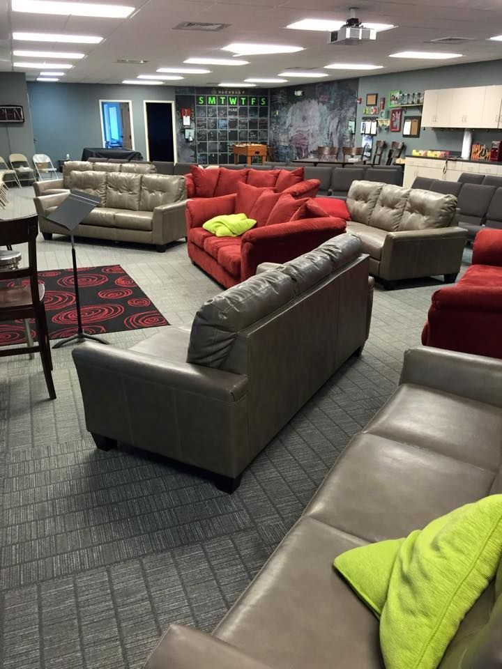 Gray Youth Group Rooms