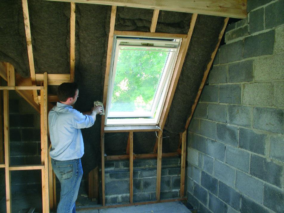 Insulating Between Rafters Loft Insulation Attic Renovation Attic Remodel