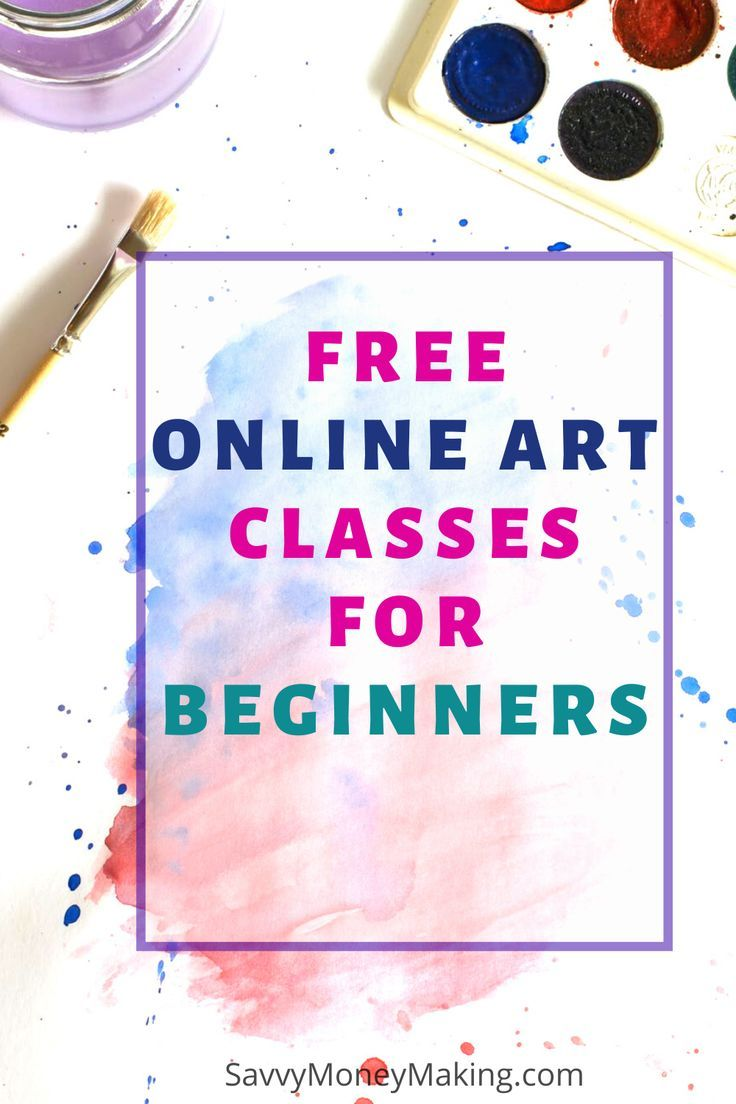 Are you looking to try beginners Art lessons for you or your children? These 5 free online Art classes are ideal for the beginners artist. You can find drawing classes, sketching, water colors and more. #artcourses #drawingclasses #painting #kids #homeschool