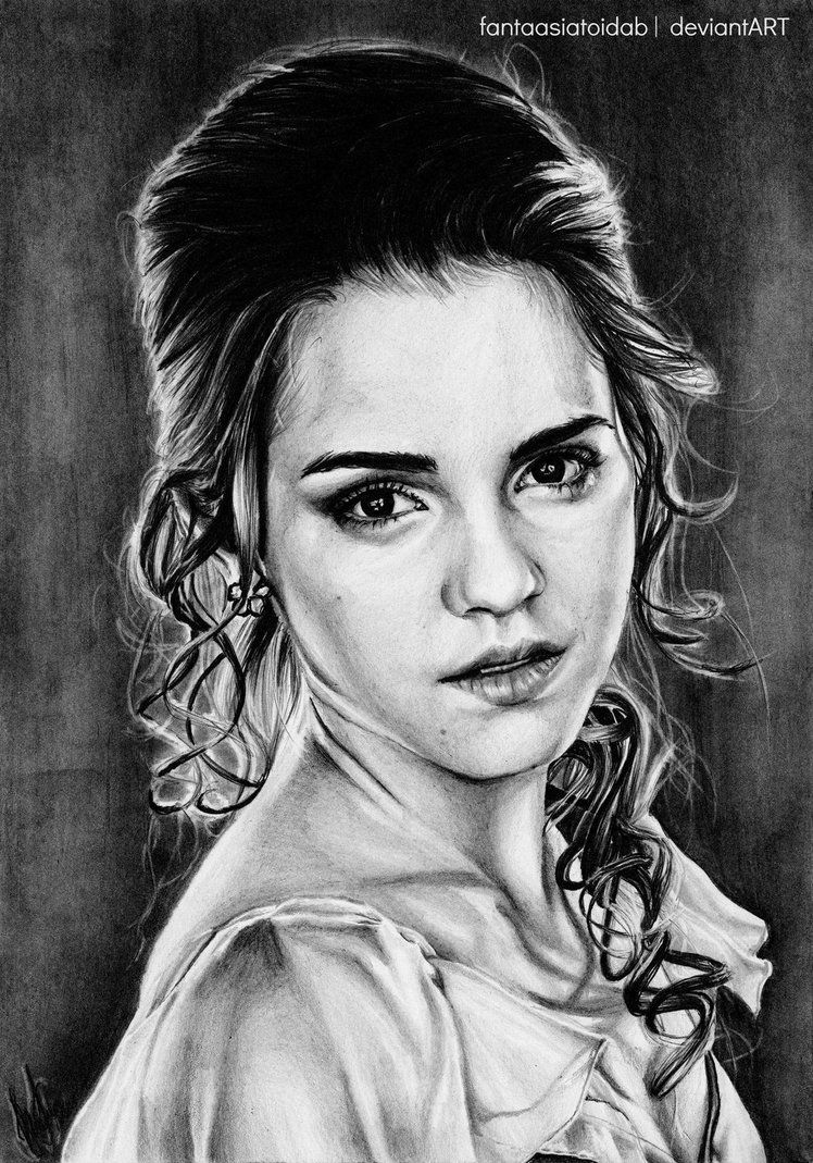 Hermione jean granger by fantaasiatoidab on deviantart deviantart pinterest harry potter - Harry potter dessin ...