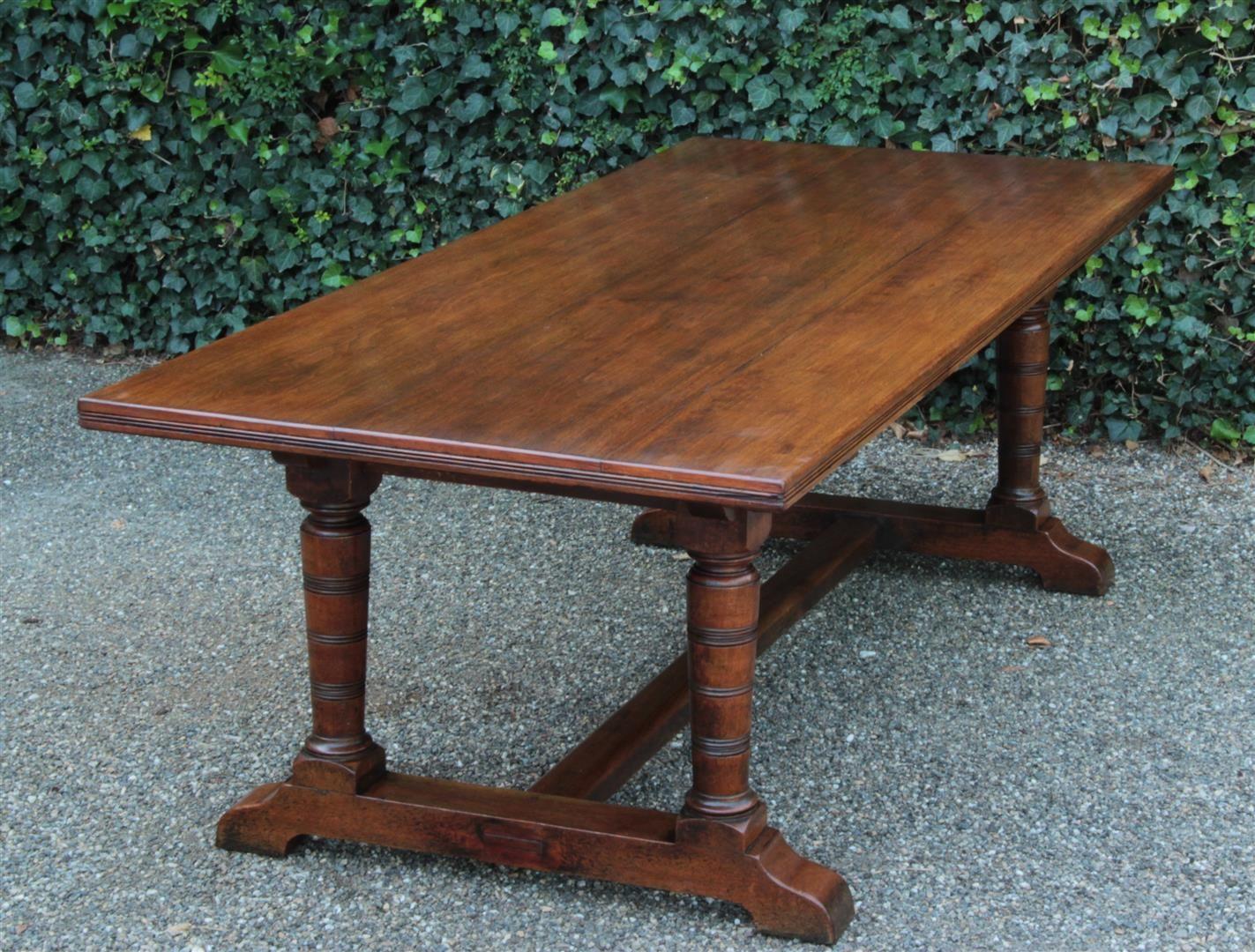 Antiker Tisch Eiche 1880 19 Jahrhundert Zimmertüren