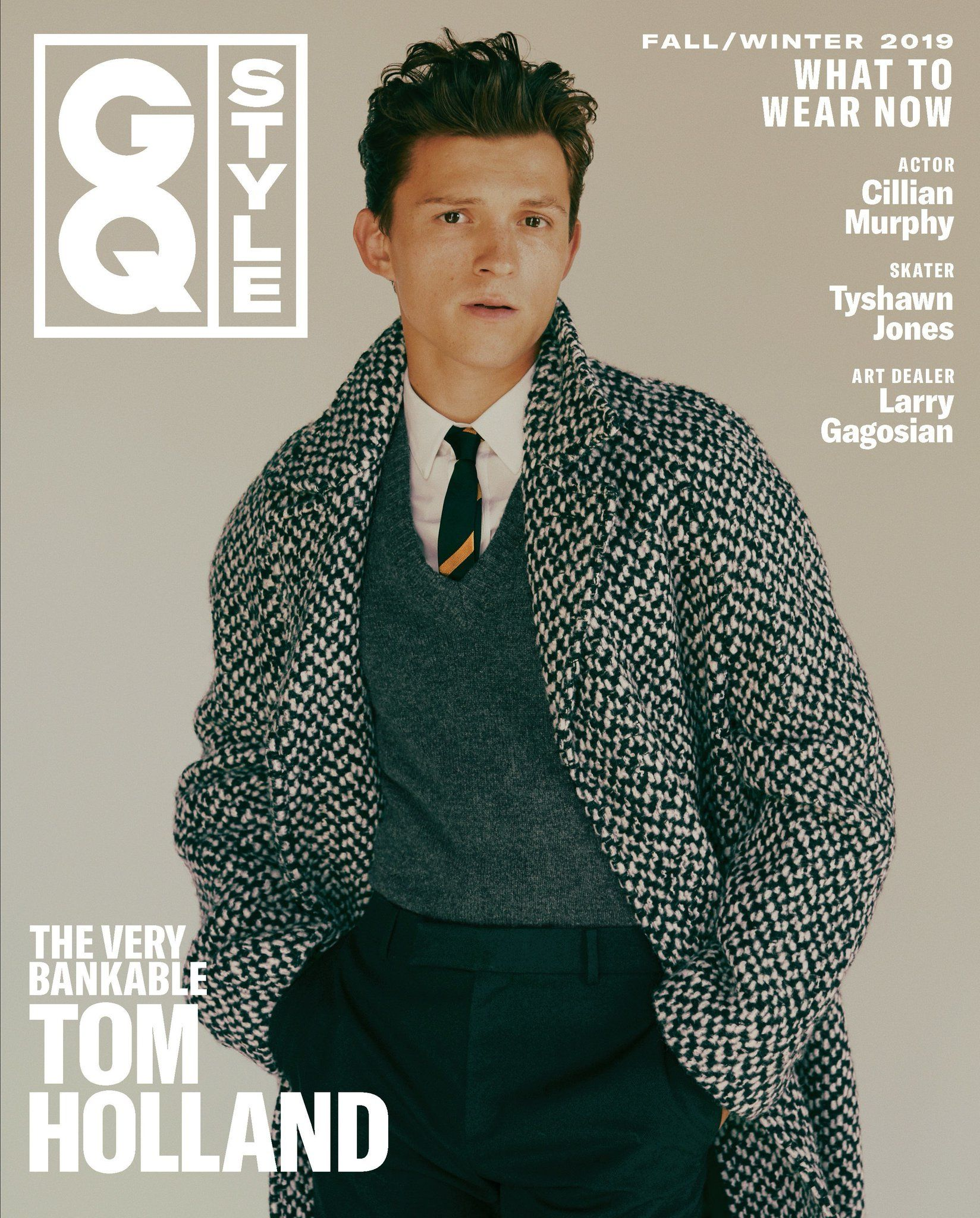 tom holland – gq style