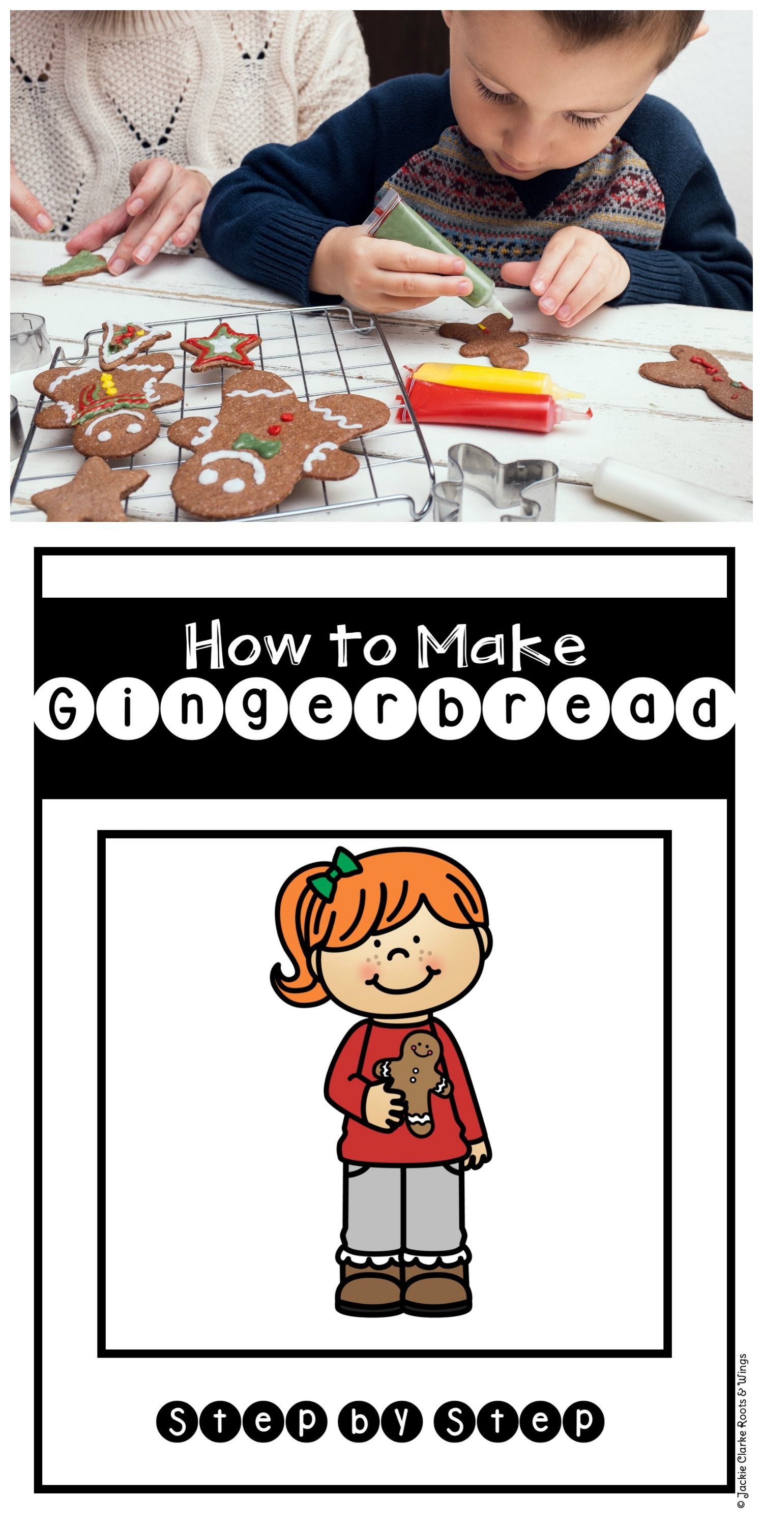 How To Procedural Writing How To Make A Gingerbread Man