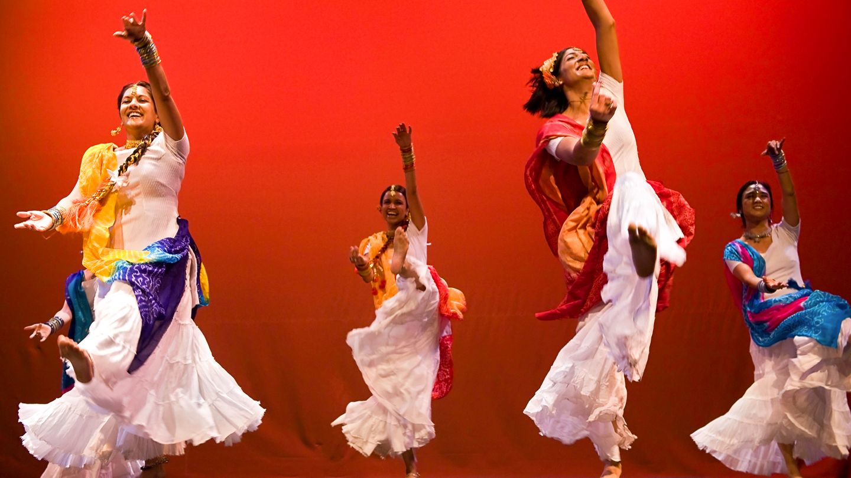 "San Rafael, Feb 4 The Colors of India"" Dholrhythms of"