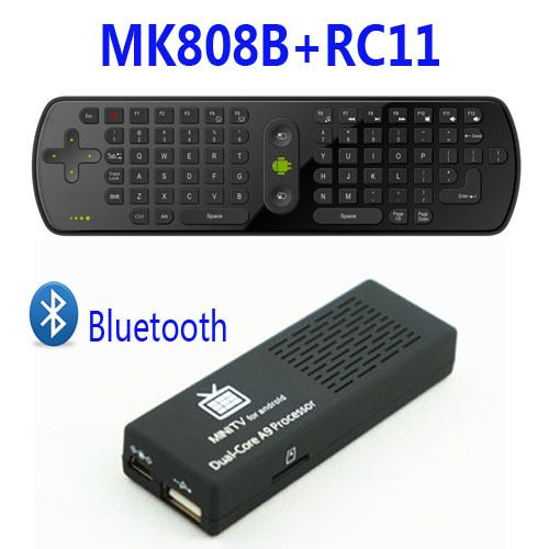 Freeshipping Original MK808B Android 4.2 Mini PC RK3066 Dual Core Stick TV BOX Bluetooth with Free RC11 Air Mouse Keyboard-in Mini PCs from Computer & Office on Aliexpress.com   Alibaba Group