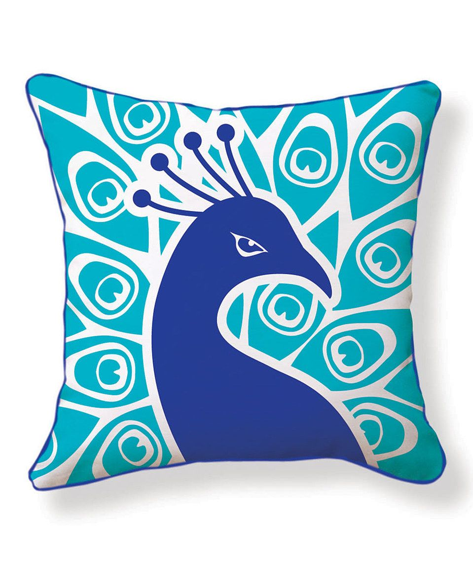 Love this Peacock Pillow by NAKED DECOR on #zulily! #zulilyfinds