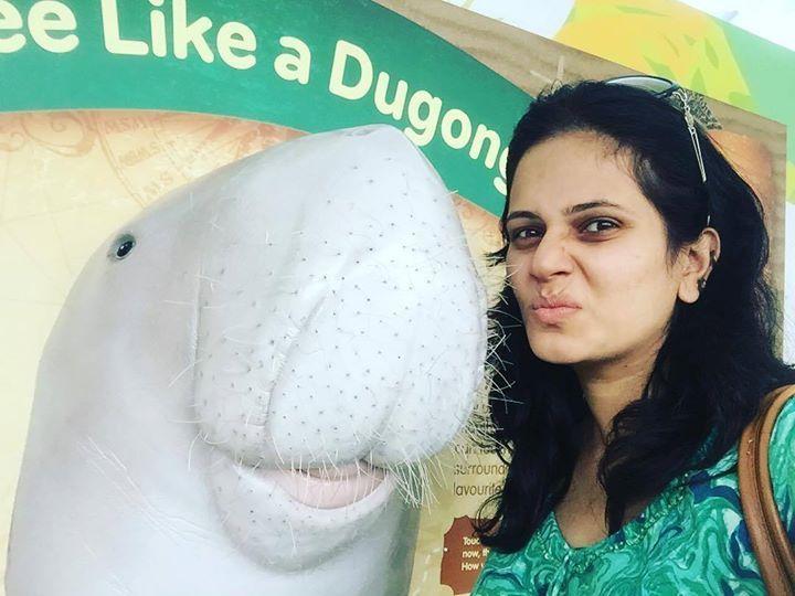 #APITConnect - Cutest ever.. Dugong by Manava Naik http://bit.ly/1KK2JbM