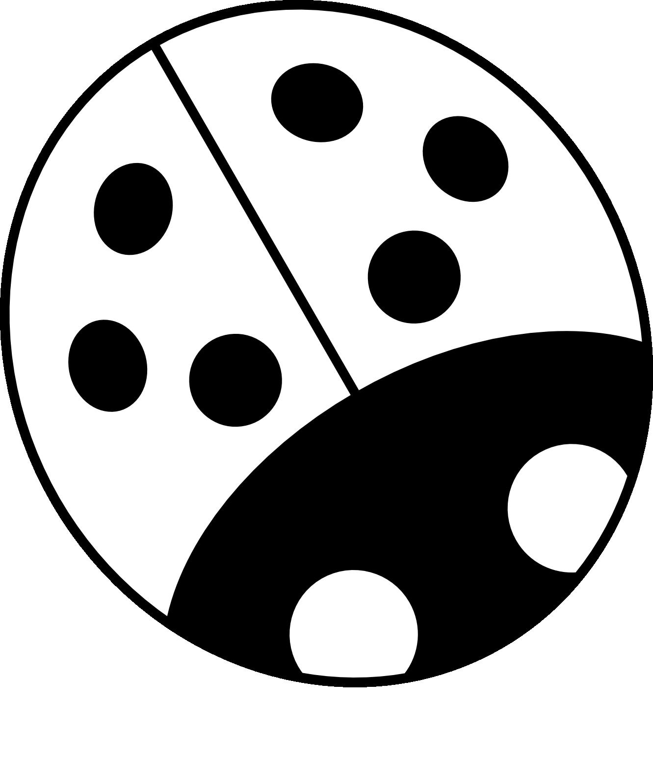 Ladybug Outline Ladybug Black And White Clipart 2 Black And White Books Clip Art Ladybug