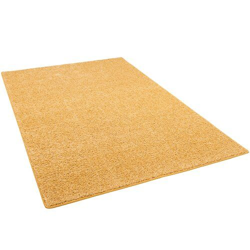 Photo of Teppich Audie in Gelb Ebern Designs Teppichgröße: Rechteckig 160 x 200 cm