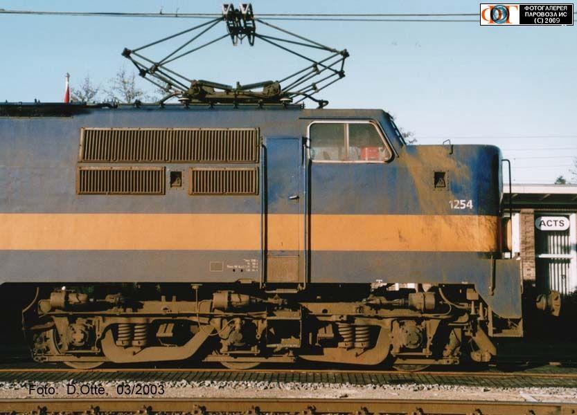 Электровоз ACTS 1254, Гронинген-Оннен (Groningen-Onnen), Нидерланды