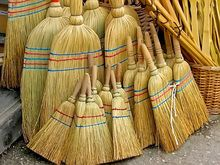 The page linked is all about venik, Russian brooms.