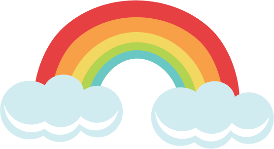 rainbow svg file for cutting machines rainbow svgs free svgs free rh pinterest com au free rainbow clipart black and white free rainbow clipart images