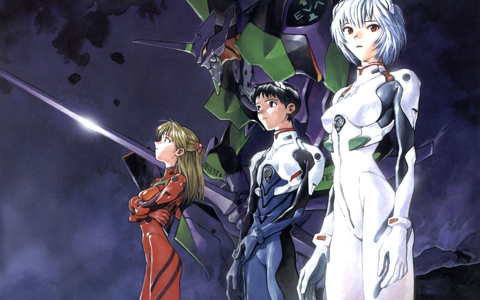 Rebuild Of Evangelion Wallpaper Mobile Neon genesis