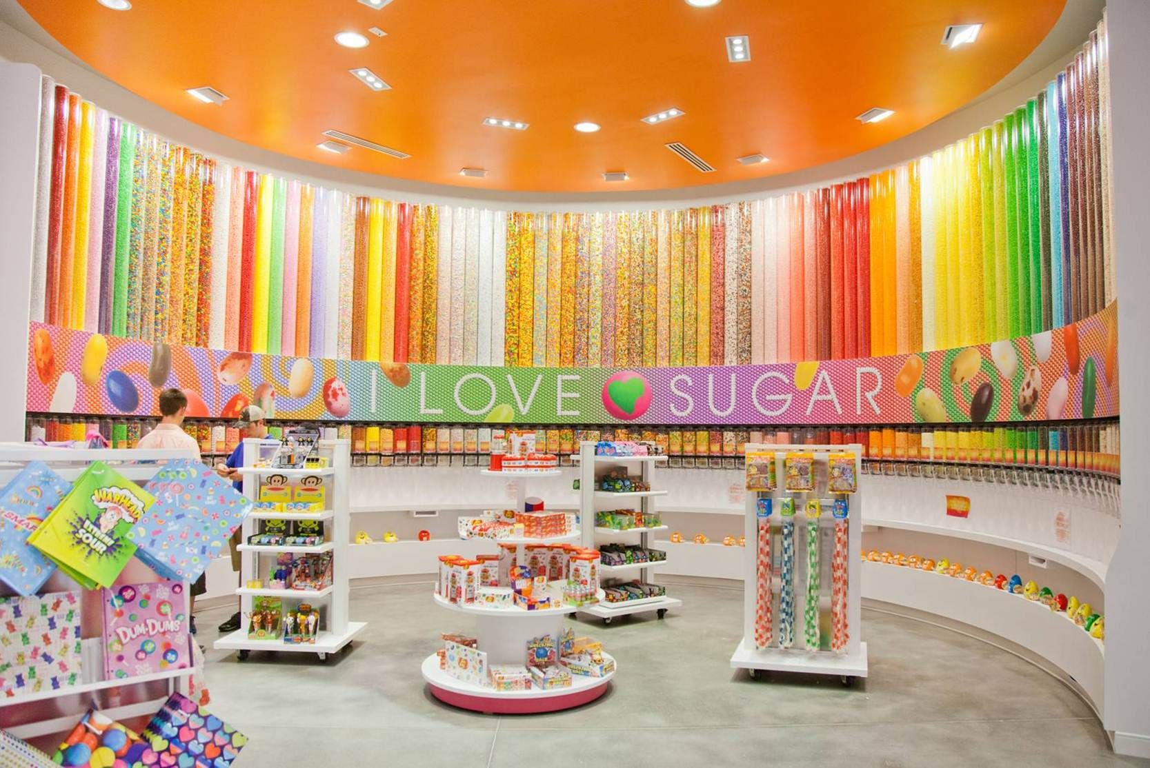 I Love Sugar Candy Just Opened Up In Myrtle Beach Sc This Is So Sweet And Features A Ton Of Sweetworks Color Wall