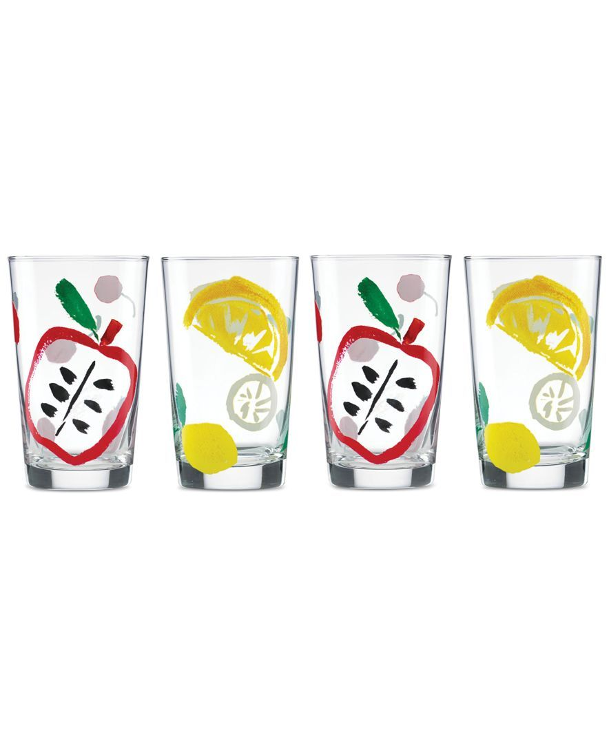 kate spade new york all in good taste Set of 4 Glasses