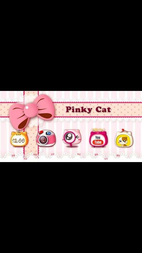 Pinky cat
