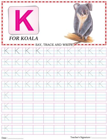 capital letter writing practice worksheet alphabet k download free capital letter writing. Black Bedroom Furniture Sets. Home Design Ideas
