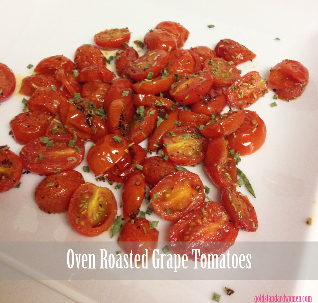Large Of Roasted Grape Tomatoes
