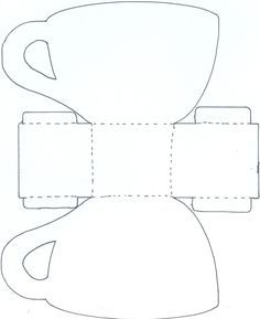 Image Result For Free Printable Tea Cup Template Prints Tea Tea