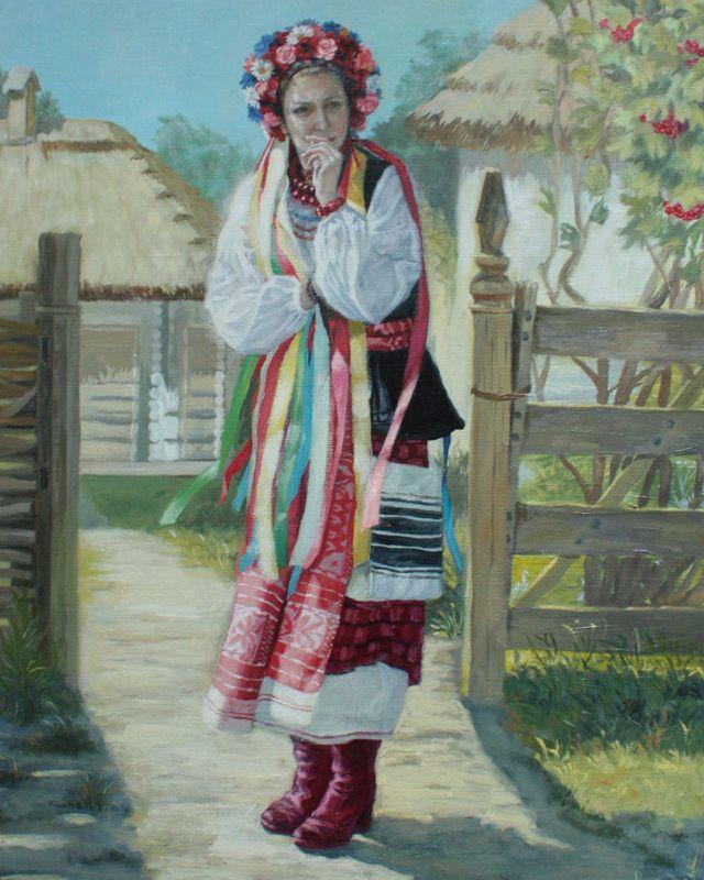 Народный костюм украинцев картинки