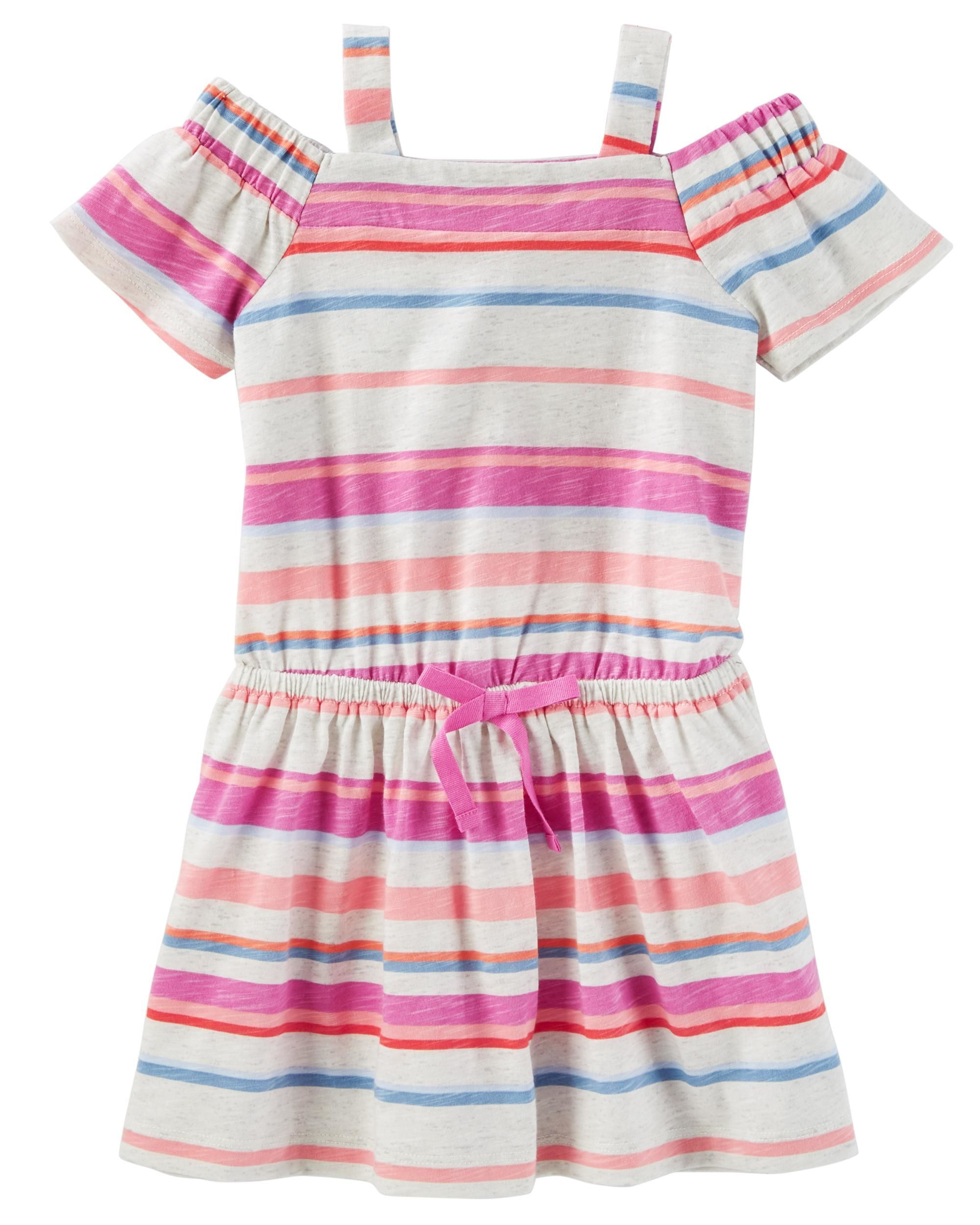 Cold shoulder dress kids girls toddler girls and toddler outfits toddler girl plaid poplin top from oshkosh bgosh shop clothing accessories from a trusted name in kids toddlers and baby clothes negle Images