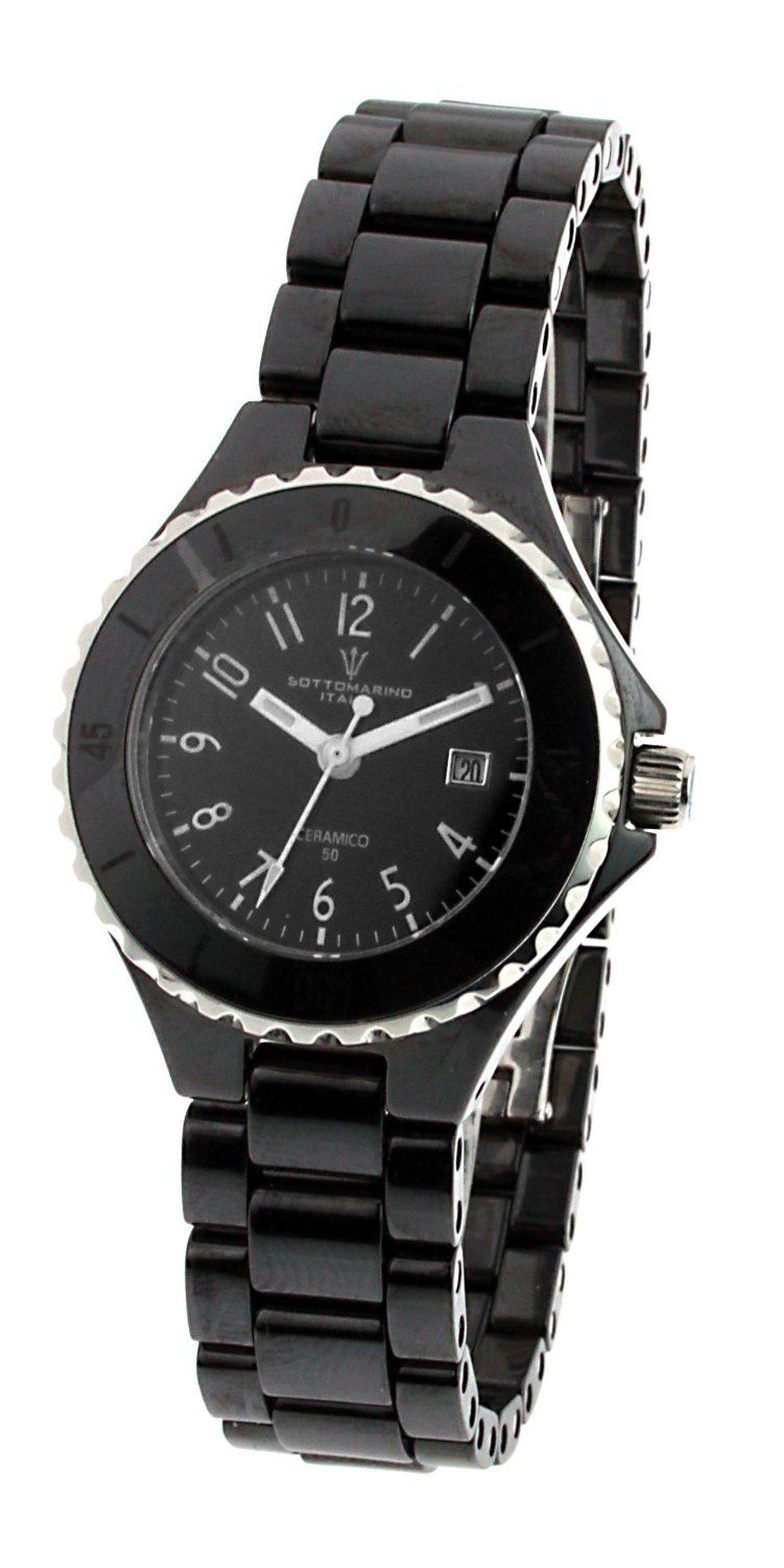 ladies skagen watch faith ceramic jewellers image from watches black uk womens