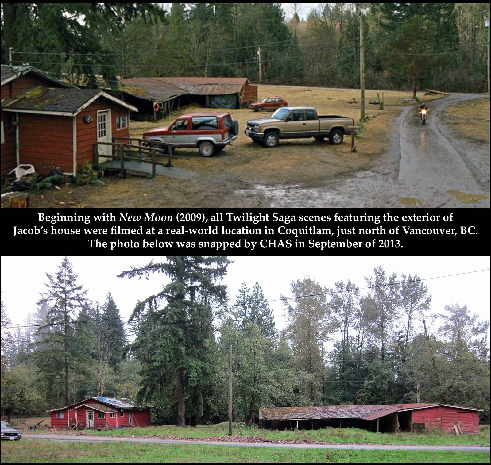 Jacob Black S Home Filming Locations Twilight Saga British Columbia