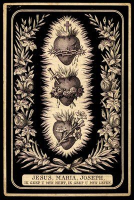 Jesus Mary Joseph Good Catholic Girl Sacred Heart Tattoos