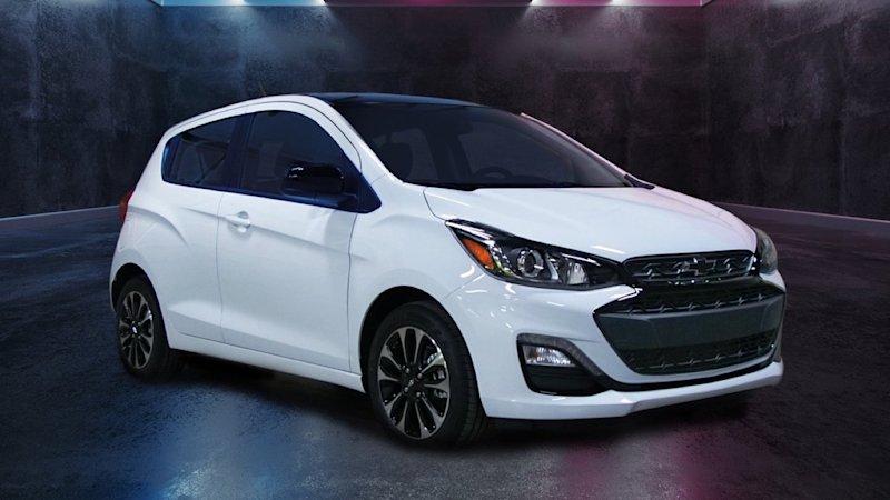 2020 Chevrolet Spark Gets A Dark Special Edition Chevrolet Spark