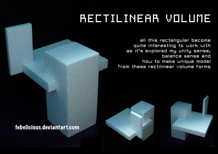 rectilinear volumes - Google Search | lines and planes | Elements of ...