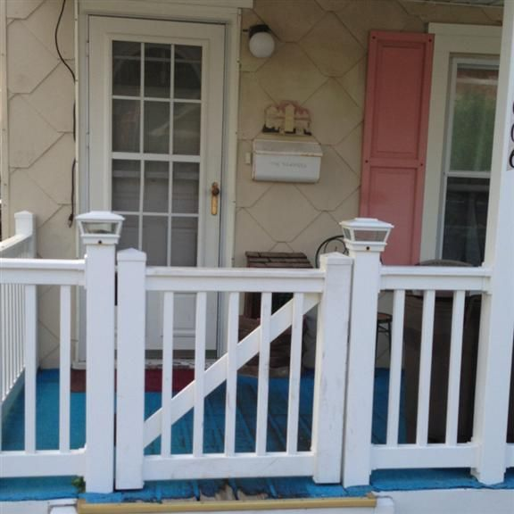 Gated Front Porch Porch Gate Dog Gates For Stairs