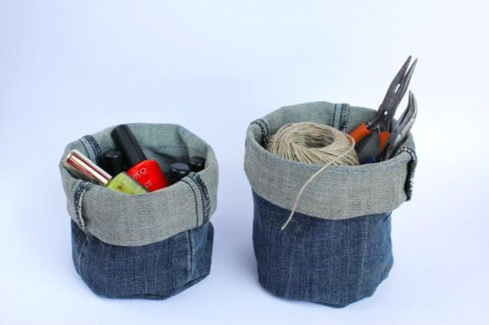 Ne jetez pas vos vieux jeans! Voici 12 incroyables façons de les réutiliser! #vieuxjeans