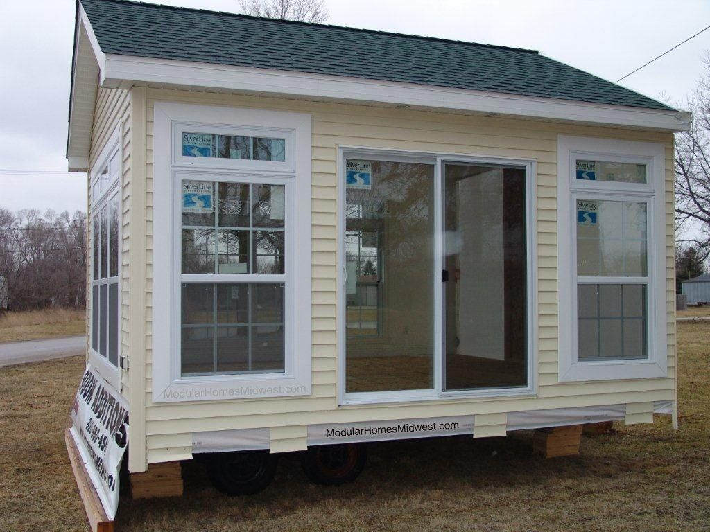 Prefab home additions modular home addition home for Cheap model homes