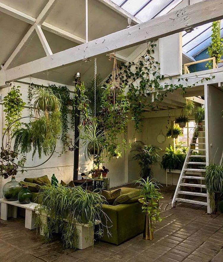 Instagram Interiors dream, Garden room, Room with plants