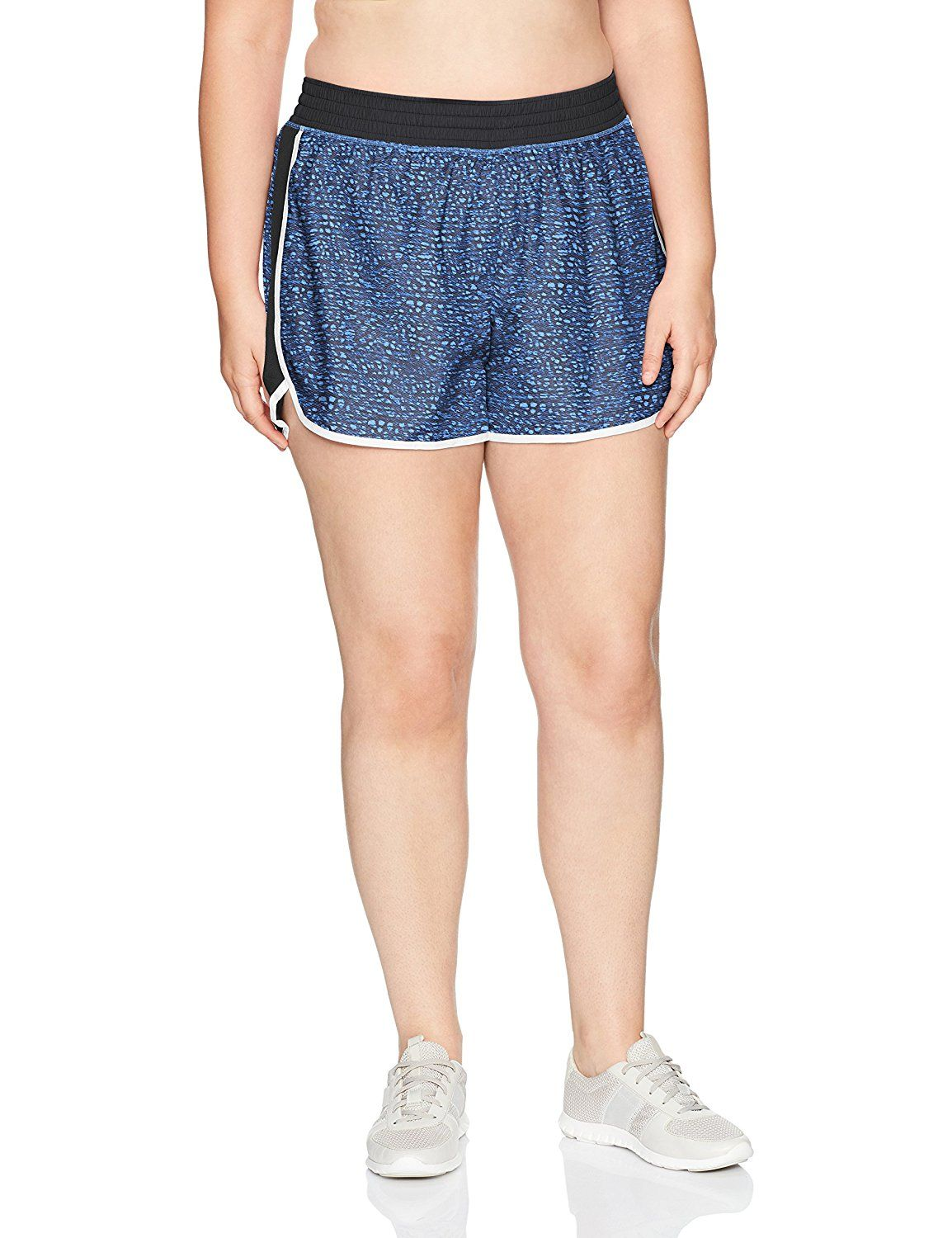 a1dee85078f Amazon.com  Just My Size Women s Plus Size Active Woven Run Short  Clothing