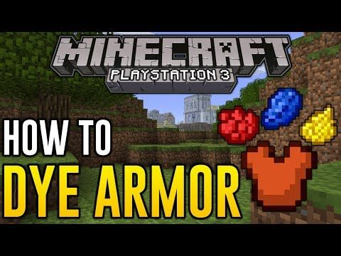 How to get stained glass in minecraft ps3