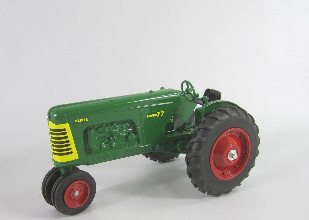 medium resolution of oliver 77 super tractor supply co 1993 spec cast stk tsc 53 99860 oliver super 77 narrow front tractor in 1 16 scale 8 1 2 in long di