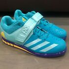 Photo of New Adidas Sz 10 Women's Powerlift 3.1 Weightlifting BY8890 Men 8.5 Blue Aqua #A…