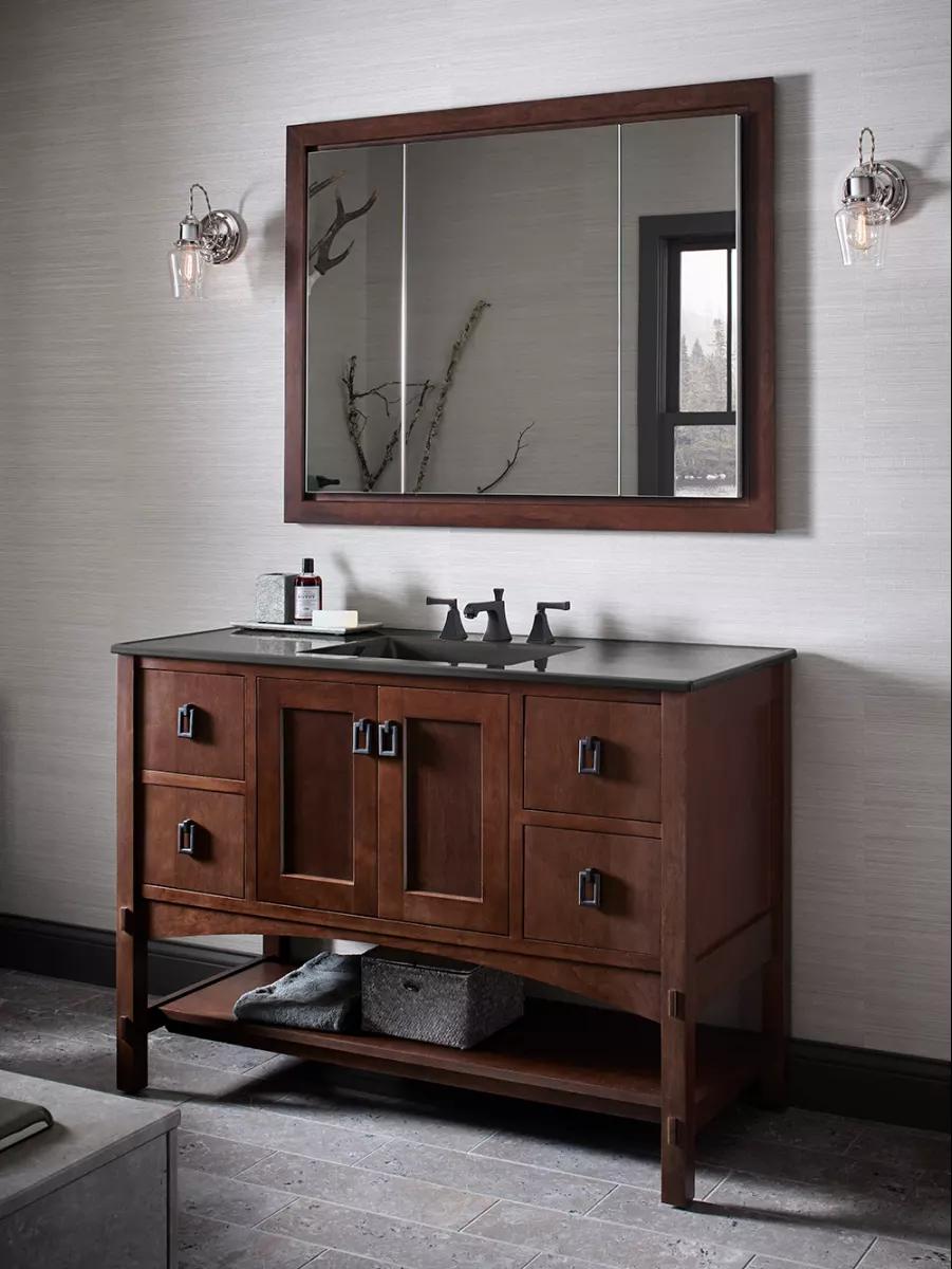 Kohler K 99011 Na 40 X 30 Triple Door Build Com In 2021 Medicine Cabinet Mirror Recessed Medicine Cabinet Mirror Cabinets [ 1200 x 901 Pixel ]
